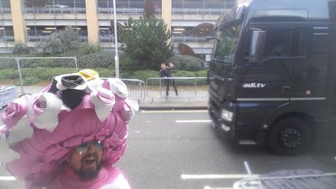 Mini and Junior GNR 2017 - Big Pink Dress