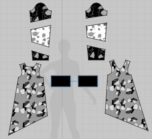 Flat Pattern Image