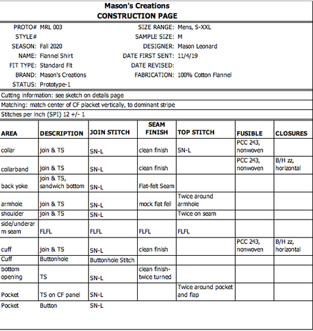 Construction Instructions