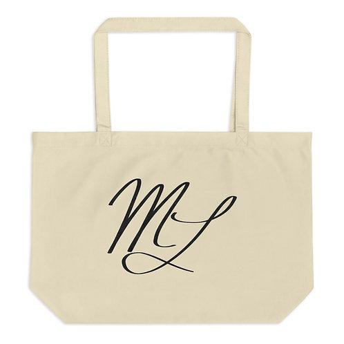 ML Large organic tote bag