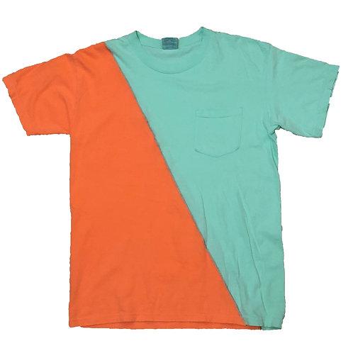 Green/Orange Medium T-Shirt