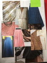 Wrinkle and Fortuni Pleating Research