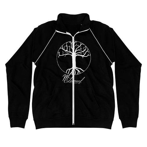 Tree of Life Men's Piped Fleece Jacket