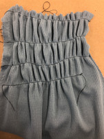 Shirring Sample