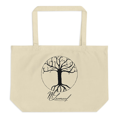 Tree of Life Large organic tote bag