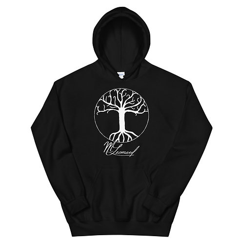 White Tree of Life M.Leonard Unisex Hoodie