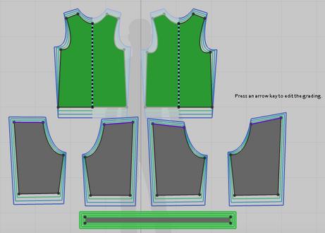 Flat Pattern Details