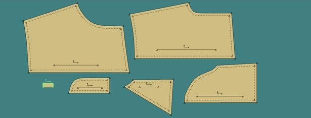 Shorts Rub-Off Pattern