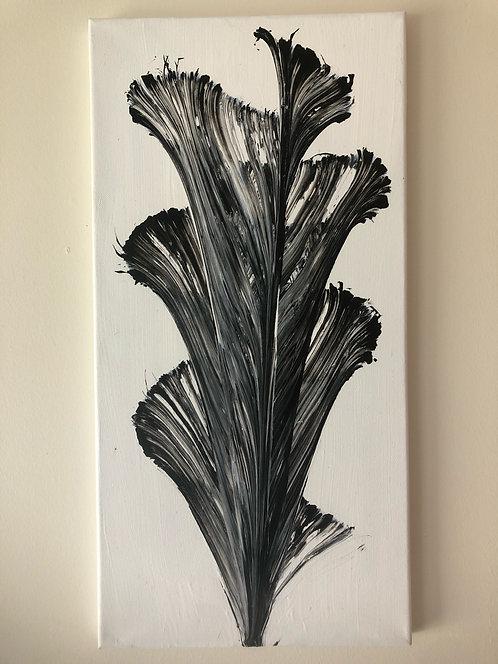 String Art Black/Grey Painting