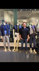 Photo with the Mannequins