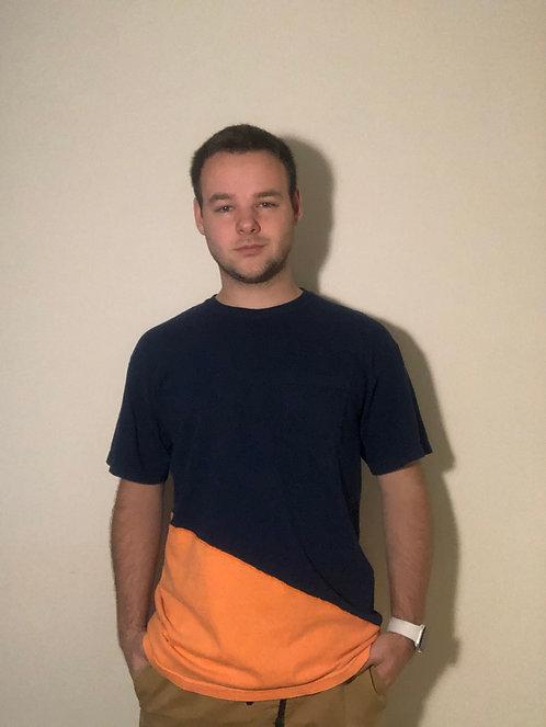 Blue/Orange Medium T-Shirt
