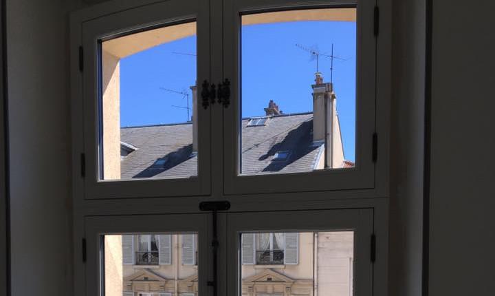Fenêtre à deux vantaux, gamme Patrimoine