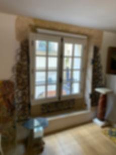Fenêtre en  bois, mouton gueule de loup , petit bois collés intercalaire fictif, fenêtre à l'ancienne, gamme Patrimoine, anti effraction, versailles, Saint-Germain, Rambouillet, Paris