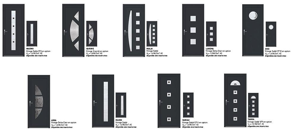 portes-entree-modeles-contemporains-gris