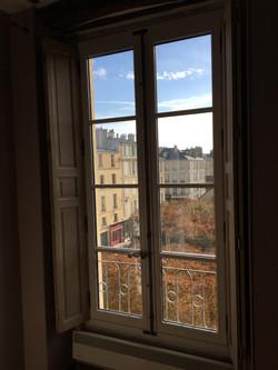 Fenêtre 2 vantaux + volet intérieur gamme Patrimoine