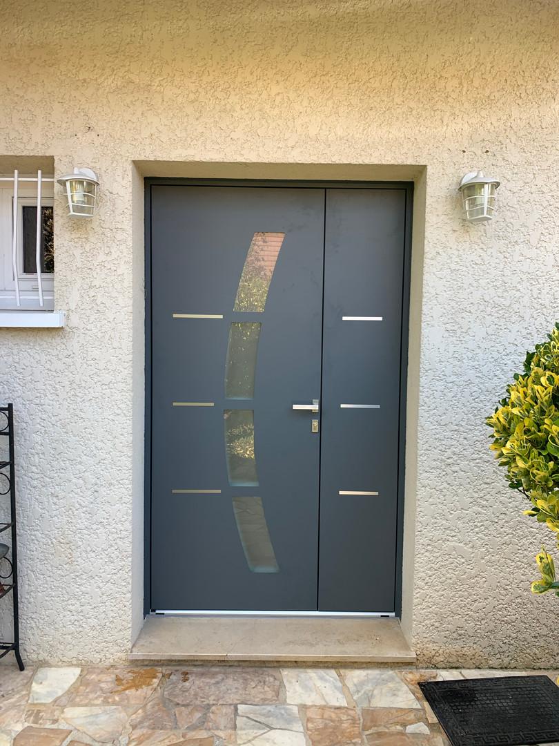 Porte aluminium I day 4