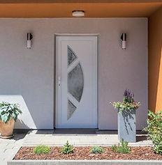 Porte d'entrée PVC marque Millet