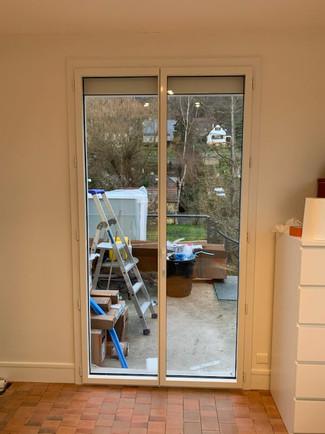 Porte fenêtre 2 vantaux, gamme SiMple Acess