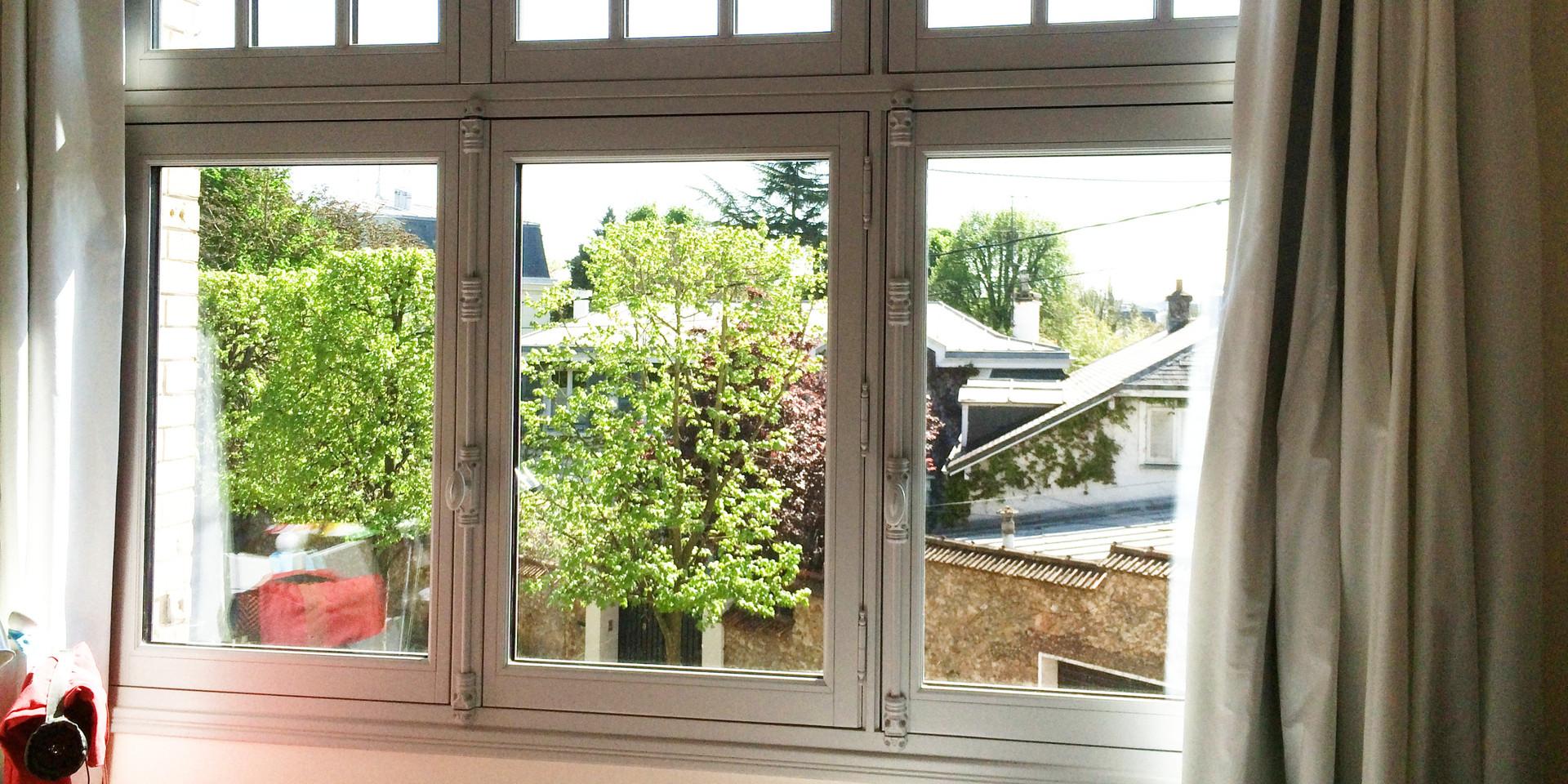 Fenêtre à 3 vantaux, gamme Patrimoine