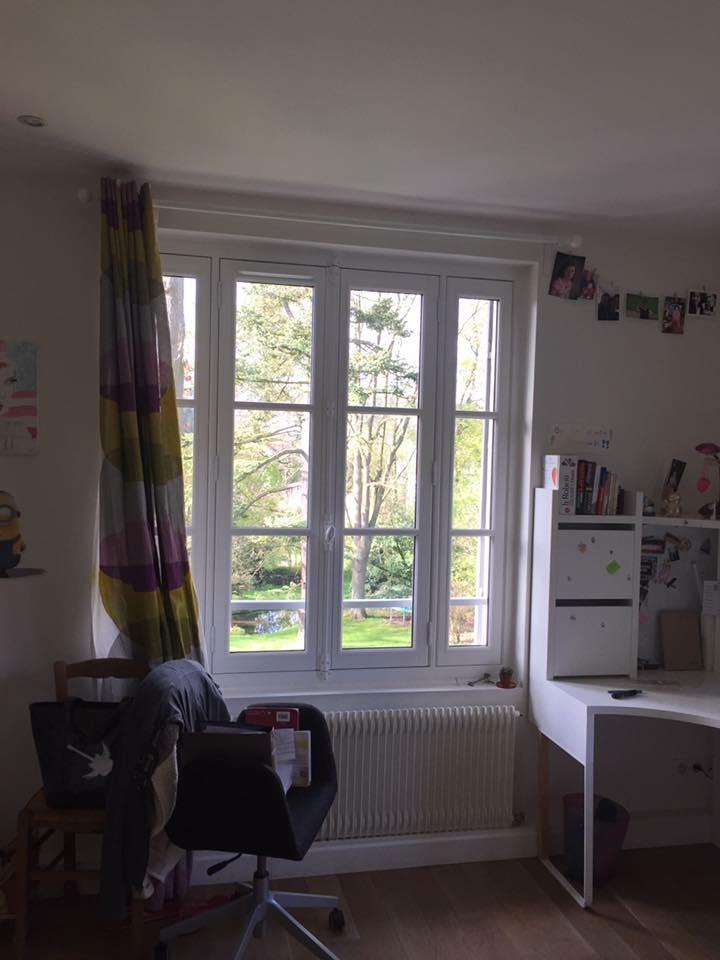Fenêtre à 4 vantaux, gamme Patrimoine