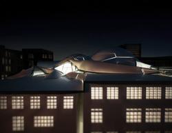 Exterior Rooftop Render