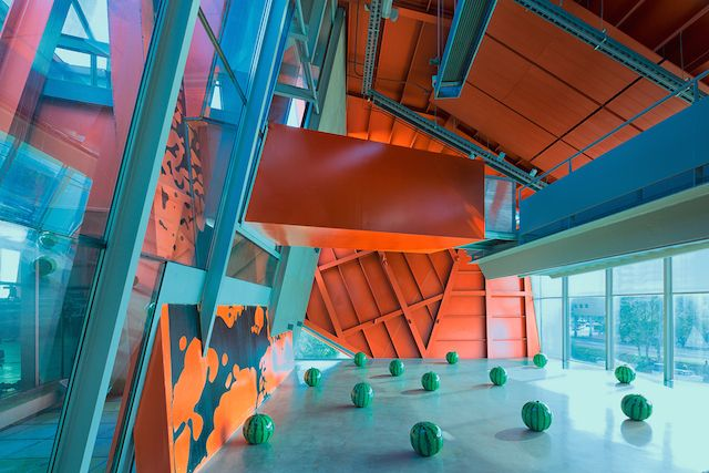 Groninger Museum Interior