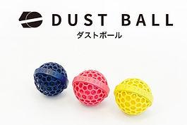 DUST BALLは6万回も再使用可能。さらに手入れは水洗いだけと非常に簡単です。