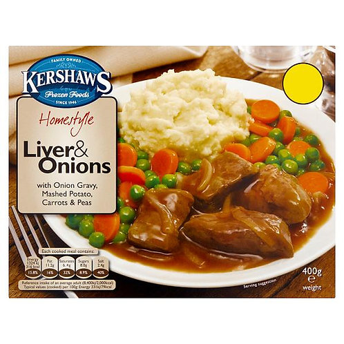 Liver & Onions dinner