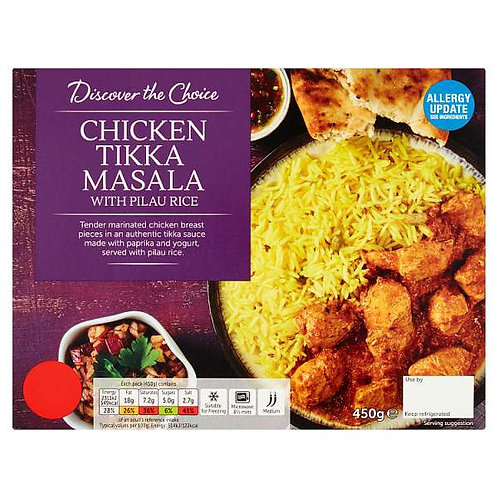 Chicken Tikka Masala (mix and match 2 for £5.00)