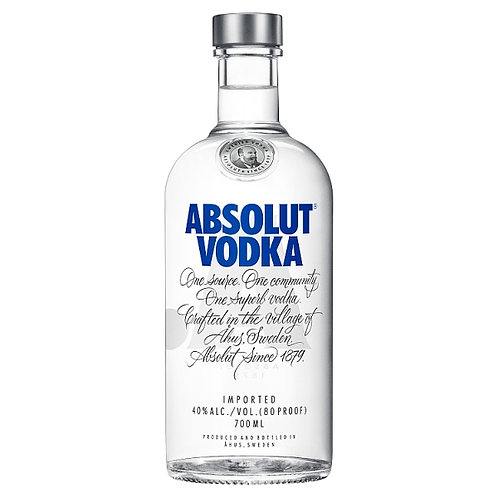 Absolut Original Swedish Vodka 70cl