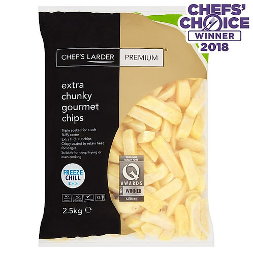 Chunky Gourmet Chips (2.5kg)