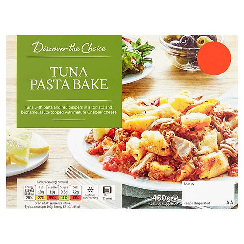 Tuna Pasta Bake (mix and match 2 for £5.00)