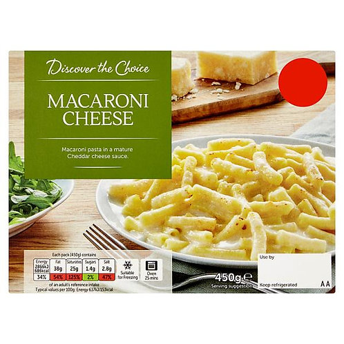 Macaroni Cheese (mix and match 2 for £5.00)