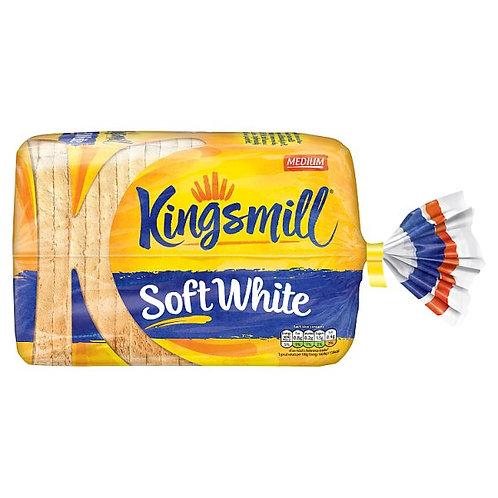 Medium sliced white bread