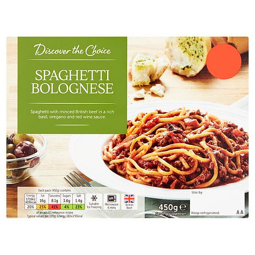Spaghetti Bolognese (mix and match 2 for £5.00)