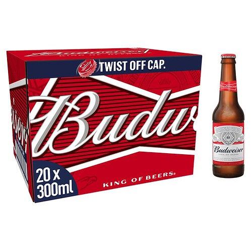 20 x Budweiser 330ml