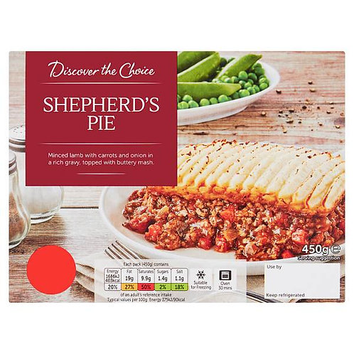 Shepard's Pie (mix and match 2 for £5.00)