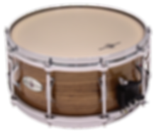 "Black Swamp SoundArt Series 6.5"" x 14"" Solid Zebrawood Snare Drum"