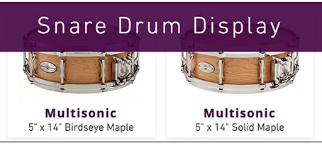Snare Drum Quick Ship Sale