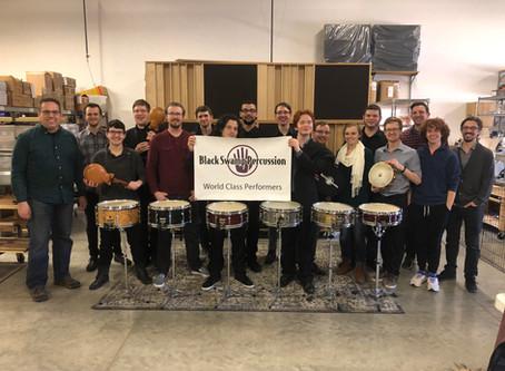 Live in the shop: BGSU Percussion Studio