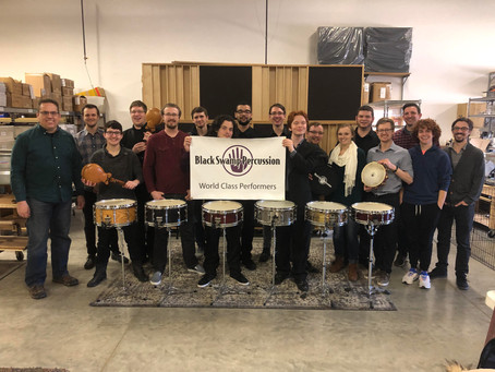 Live in the shop: BGSU Percussion Studio