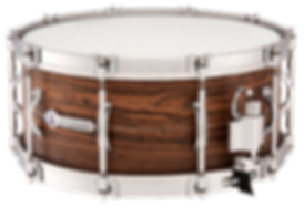 "Dynamicx Drums® by Black Swamp Percussion are drumset style snare drums that are handcrafted into a sonically and visually superior musical instument. This drums is a Dynamicx® Sterling Series™ 6.5"" x 14"" Steam Bent Bocote."