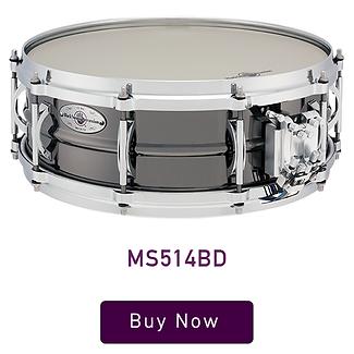 """Black Swamp Multisonic 5"""" x 14"""" Medallion Brass Snare Drum"""