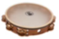 The Black Swamp Beryllium Copper tambourine has a complex sonority and fullness.