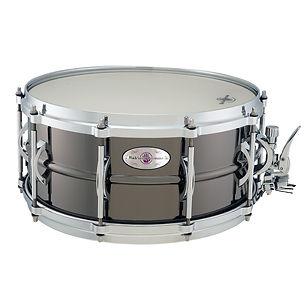 Black Swamp Soundart Medallion Brass Snare Drum