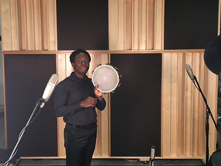Josh Jones Recording Session