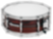 """Dynamicx Drums® by Black Swamp Percussion are drumset style snare drums that are handcrafted into a sonically and visually superior musical instument. This is a  Dynamicx® Sterling Series™ 5.5"""" x 14"""" Steam Bent Cocobolo."""