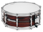 "Dynamicx Drums® by Black Swamp Percussion are drumset style snare drums that are handcrafted into a sonically and visually superior musical instument. This is a  Dynamicx® Sterling Series™ 5.5"" x 14"" Steam Bent Cocobolo."