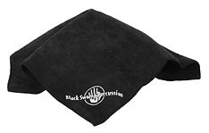 Keep your Black Swamp Drum looking fine with the BSP Microfiber cleaning cloth.