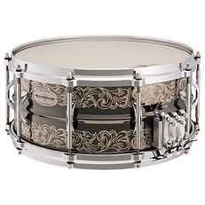 MS6514 Brass Engraved Snare Drum